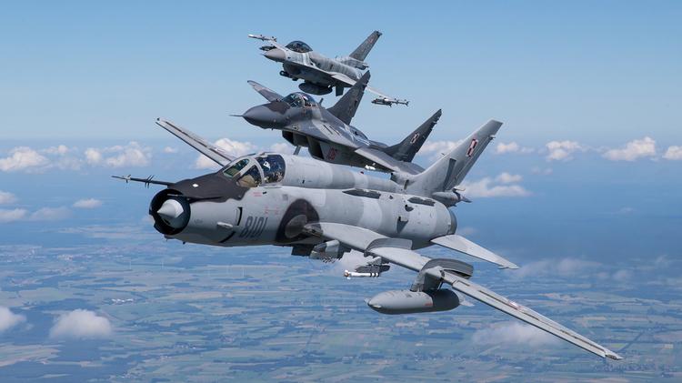Polskie myśliwce we wspólnej sesji [Wasze zdjęcia]