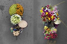 Loes Heerink - uliczni kupcy z Hanoi