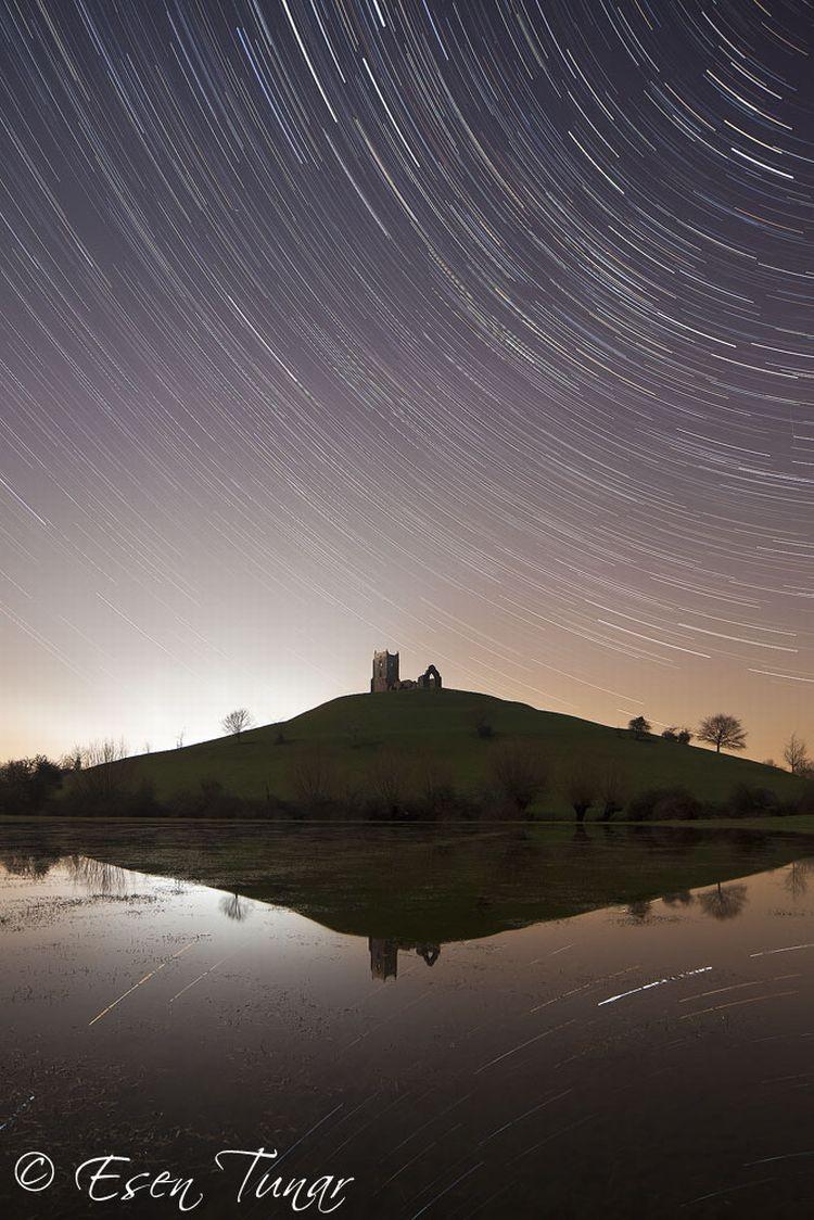 fot. Esen Tunar, astrofotografia,tory gwiazd