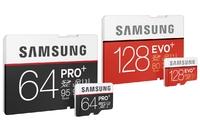 Samsung PRO Plus i EVO Plus - nowe karty SD i microSD