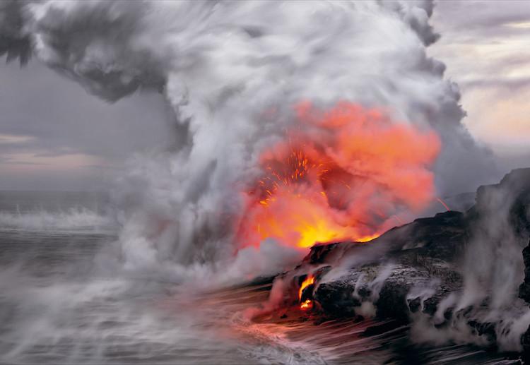 Fotografia powstała w Kilauea na Hawajach, fot. Peter Lik.