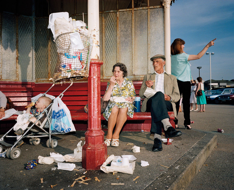 New Brighton, z cyklu The Last Resort, 1983-5, fot. Magnum, Martin Parr
