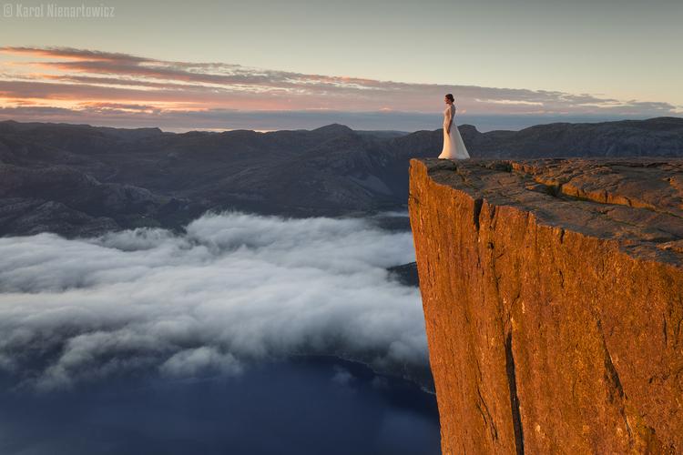 Co fotograf krajobrazu może dać żonie w prezencie ślubnym?