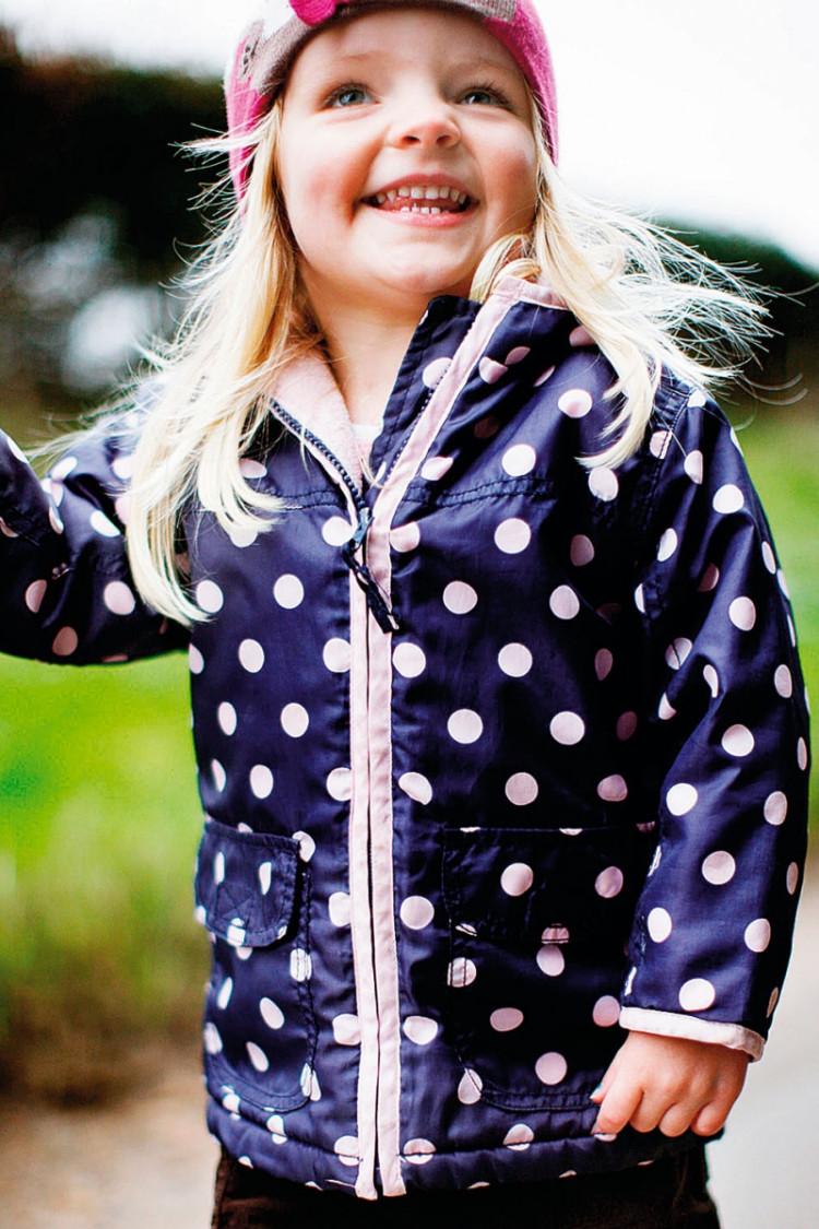 portret dziecka odpowiednie ubranie modela