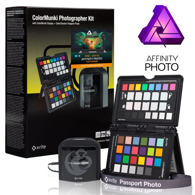 X-Rite ColorMunki Photographer Kit + Affinity Photo w prezencie, cena 959 zł