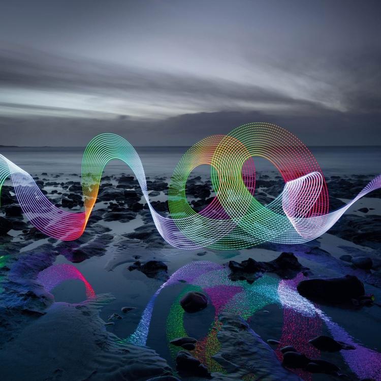 Pomaluj światłem nadmorski krajobraz