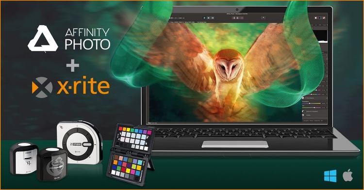 Produkty X-Rite z Affinity Photo w prezencie