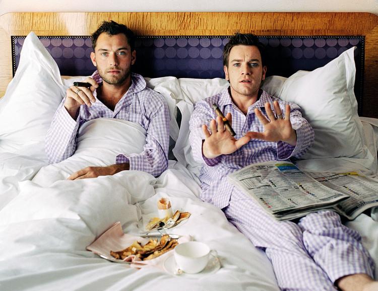Zdjęcie dla magazynu The Telegraph. Ewan i Jude, fotografia Lorenzo Agius