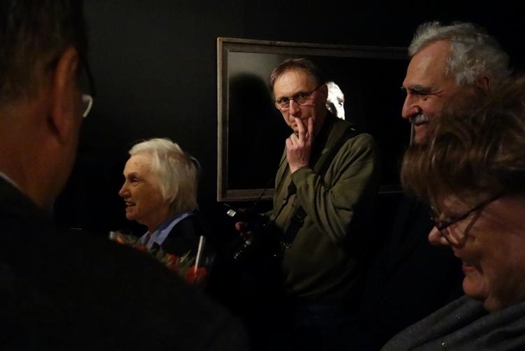 Odwiedzający wystawę mieli okazję porozmawiać z autorami Agnieszką i Maćkiem Nabrdalikiem