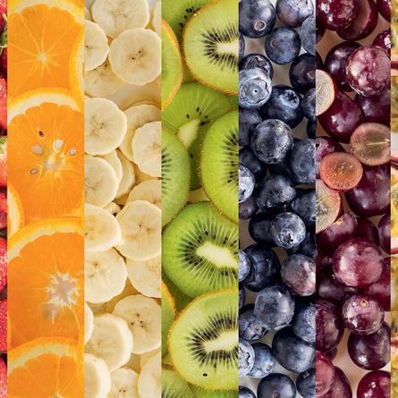Tęczowe jedzenie - sfotografuj kolory natury