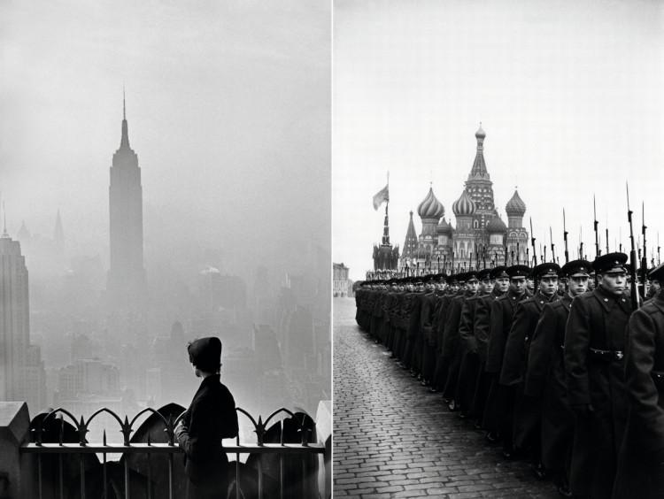 Empire State Building, 1955, fot. Elliott Erwitt, Plac Czerwony, 1957
