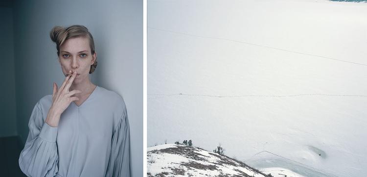 """Joanna Sienkiewicz, kolekcja """"Less is More"""" Ani Kuczyńskiej, fot. Szymon Rogiński"""