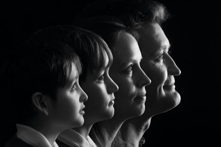 Jak wykonać czarno-biały portret w studio