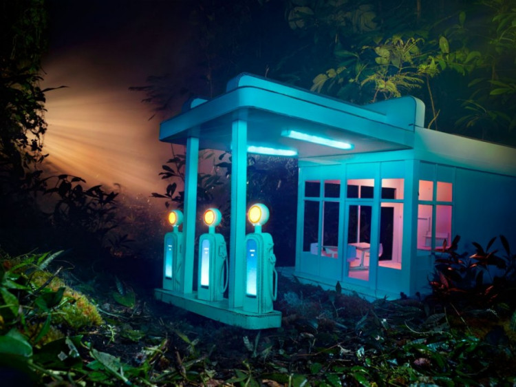 "Z cyklu ""Gas"", fot. David LaChapelle"